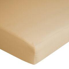 Prześcieradło bawełniane gładkie 90x200+25cm 140 kolor morelowy - 90 x 200 cm - morelowy 7