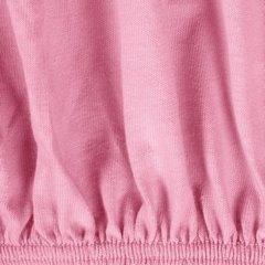 Prześcieradło bawełniane gładkie 90x200+25cm 140 kolor różowy - 90 X 200 cm, wys.25 cm - różowy 8