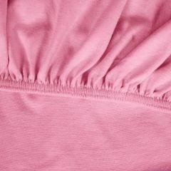 Prześcieradło bawełniane gładkie 90x200+25cm 140 kolor różowy - 90 X 200 cm, wys.25 cm - różowy 6