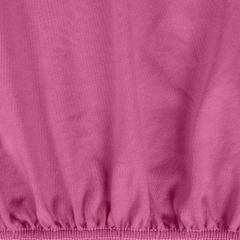 Prześcieradło bawełniane gładkie 120x200+25cm kolor amarant - 120 X 200 cm, wys.25 cm - amarantowy 9