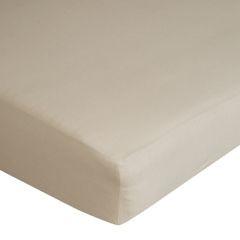Prześcieradło bawełniane gładkie 120x200+25cm 140 kolor beżowy - 120 X 200 cm, wys.25 cm - beżowy 7