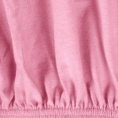 Prześcieradło bawełniane gładkie 120x200+25cm 140 kolor różowy - 120 X 200 cm, wys.25 cm - różowy 8