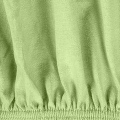 Prześcieradło bawełniane gładkie 160x200+25cm 140 kolor morelowy - 160 X 200 cm, wys.25 cm - miętowy 4