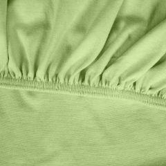 Prześcieradło bawełniane gładkie 160x200+25cm 140 kolor morelowy - 160 X 200 cm, wys.25 cm - miętowy 6