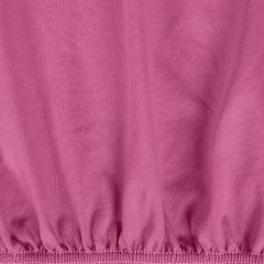 Prześcieradło bawełniane gładkie 180x200+25cm kolor amarant - 180 X 200 cm, wys.25 cm - amarantowy 1