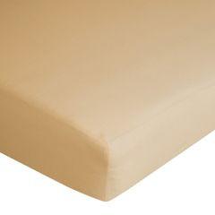 Prześcieradło bawełniane gładkie 180x200+25cm 140 kolor morelowy - 180 X 200 cm, wys.25 cm - morelowy 10