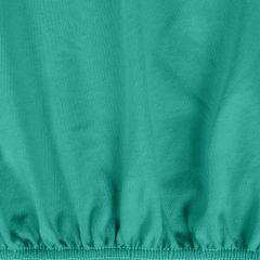Prześcieradło bawełniane gładkie 180x200+25cm 140 kolor turkusowy - 180 X 200 cm, wys.25 cm - turkusowy 9