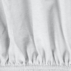 Prześcieradło bawełniane gładkie 220x200+25cm 140 kolor biały - 220 X 200 cm, wys.25 cm - biały 9