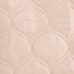 Narzuta na łóżko przeszywana 200x220 cm różowa - 200 x 220 cm - jasnoróżowy 3