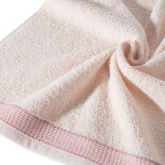 Ręcznik Bill Eurofirany Premium 50x90 jasnoróżowy - 50 X 90 cm - różowy 4