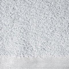 Ręcznik z bawełny z błyszczącym brzegiem 50x90cm popielaty - 50 X 90 cm - srebrny 8