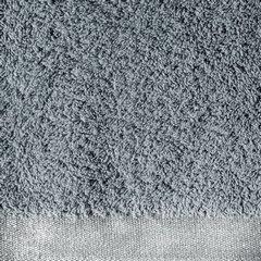 Ręcznik z bawełny z błyszczącym brzegiem 70x140cm biały - 70 X 140 cm - stalowy 9