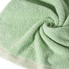 Ręcznik z bawełny z błyszczącym brzegiem 70x140cm miętowy - 70 X 140 cm - miętowy 9