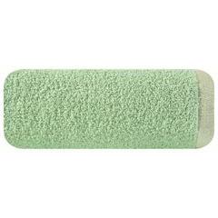 Ręcznik z bawełny z błyszczącym brzegiem 70x140cm miętowy - 70 X 140 cm - miętowy 2