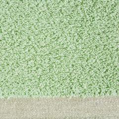 Ręcznik z bawełny z błyszczącym brzegiem 70x140cm miętowy - 70 X 140 cm - miętowy 4