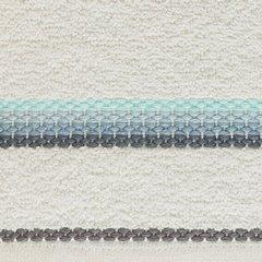 Ręcznik z tęczowym haftem na bordiurze 50x90cm - 50 X 90 cm - kremowy 10