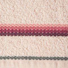 Ręcznik z tęczowym haftem na bordiurze 30x50cm - 30 X 50 cm - różowy 9