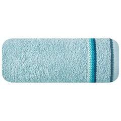 Ręcznik z tęczowym haftem na bordiurze 30x50cm - 30 X 50 cm - niebieski 2