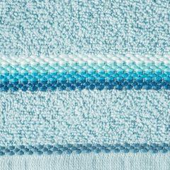 Ręcznik z tęczowym haftem na bordiurze 30x50cm - 30 X 50 cm - niebieski 4