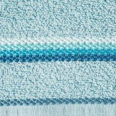 Ręcznik z tęczowym haftem na bordiurze 50x90cm - 50 X 90 cm - niebieski 10