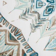 Komplet pościeli z satyny bawełnianej 160x200 cm, 2 szt. 70x80 cm nadruk indiański łapacz snów - 160x200 - biały / czerwony / pomarańczowy / żółty 1