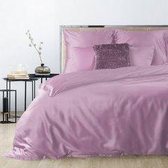 Komplet pościeli z makosatyny bawełnianej 140 x 200 cm, 1szt. 70 x 80 cm, ciemoróżowy - 140x200 - różowy 2