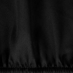 Prześcieradło Z Makosatyny Gładkie 100X200+25CM kolor Czarny - 100x200+25 - czarny 1