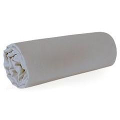 Prześcieradło z makosatyny gładkie 160x210 kolor srebrny - 160 X 210 cm - jasnoszary 1