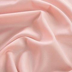 Gładka zasłona z matowej satyny w kolorze pudrowym 140x250 przelotki - 140x250 - pudrowy 2