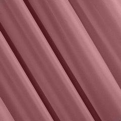 Ciemnoróżowa gładka zasłona z matowej satyny 140x250 przelotki - 140 X 250 cm - ciemny różowy 3