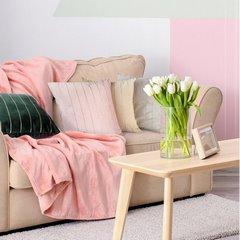 Poszewka dekoracyjna na poduszkę 45 x 45 kolor c.turkusowy - 45 X 45 cm - c.turkusowy 4
