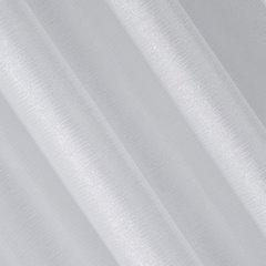 Zasłona biało srebrna na przelotkach 140 x 250 cm  - 140 X 250 cm - biały 3