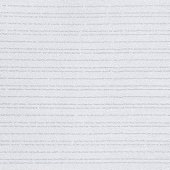 Zasłona biało srebrna na przelotkach 140 x 250 cm  - 140 X 250 cm - biały 4