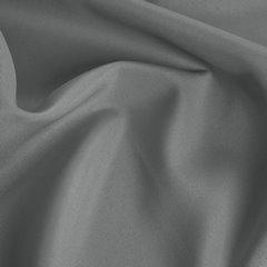 Szara gładka zasłona z matowej satyny 140x250 przelotki - 140x250 - szary 2