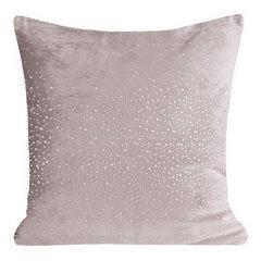 Poszewka dekoracyjna na poduszkę 45 x 45 kolor c.różowy - 45x45 - różowy 1