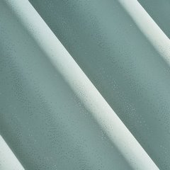 Zasłona zaciemniająca ze srebrzystymi kropeczkami na przelotkach 140 x 250 cm miętowa - 140x250 - miętowy 2