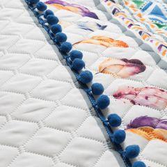 Narzuta łapacz snów modny styl boho żywe kolory 200x220cm - 200 X 220 cm - biały/mix kolorów 8