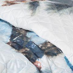 Narzuta z motywem łapacza snów styl boho modna 200x220cm - 200 X 220 cm - biały/stalowy 8