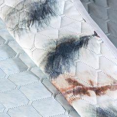 Narzuta z motywem łapacza snów styl boho modna 200x220cm - 200 X 220 cm - biały/stalowy 9