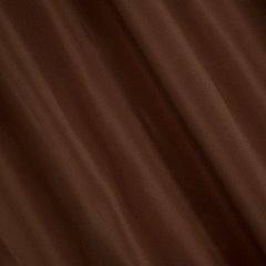 Gładka zasłona z matowej satyny kawowa na przelotkach 140x250 - 140x250 - kawowy 1