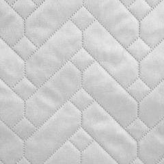 Narzuta welurowa dwustronna termozgrzewana biały+srebrny 220x240cm - 220 X 240 cm - biały/popielaty 7