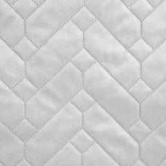 Narzuta welurowa dwustronna termozgrzewana biały+srebrny 220x240cm - 220x240 - biały / srebrny 2