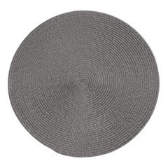 Okrągła podkładka stołowa stalowy szary średnica 38 cm - ∅ 38 cm - szary 1