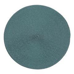 Okrągła podkładka stołowa ciemny turkus średnica 38 cm - ∅ 38 cm - petrol 1