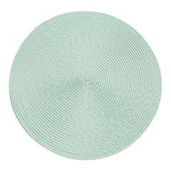 Okrągła podkładka stołowa miętowa średnica 38 cm - ∅ 38 cm - miętowy 1