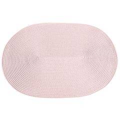 Owalna podkładka stołowa stalowy szary 30x45 cm - 45 X 30 cm - stalowy 2