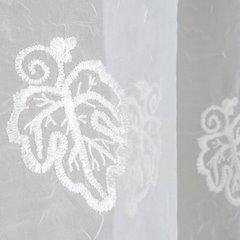 Firana eleonora biała na taśmie 400x145 cm  - 400x145 - Biały 2