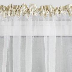 Firana eleonora biała na taśmie 400x145 cm  - 400 x 145 cm - biały/kremowy 4