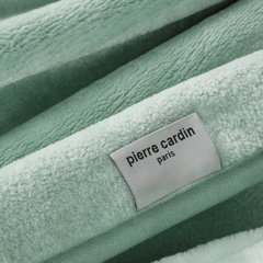Jasny zielony EKSKLUZYWNY KOC Clara od PIERRE CARDIN 220x240 cm z akrylem - 220 X 240 cm - jasnozielony 6