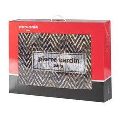 Brązowy KOC W ZYGAZAKI Sonia od PIERRE CARDIN 160x240 cm - 160 X 240 cm - brązowy/kremowy/beżowy 3